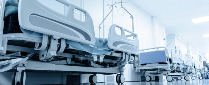 Lead-time in healthcare. Hospital beds