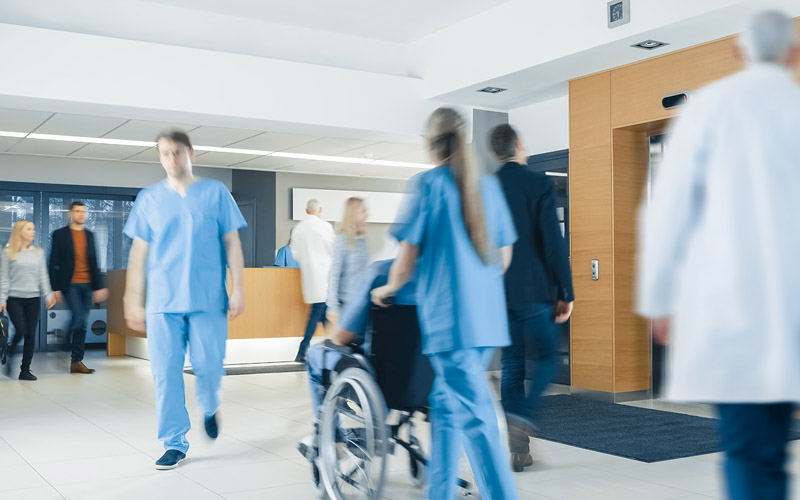 Expedite patient discharge at hospital